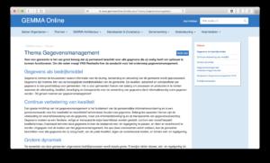 Richtlijnen gegevensmanagement